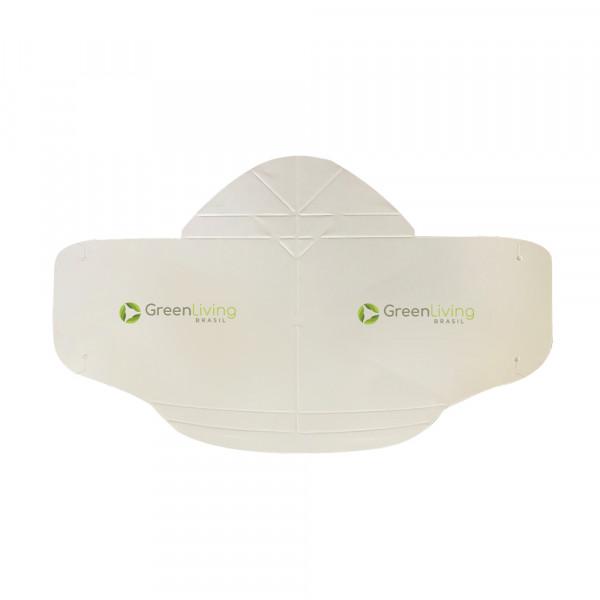 Máscara descartável de papel - pacotes com 250 un.